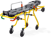 The CROSS stretcher for ambulances